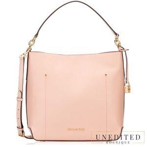 Michael Kors Leather Hobo Shoulder Bag